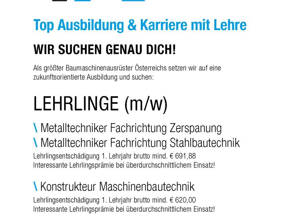 Winkelbauer GmbH, Lehrlingsausbildung