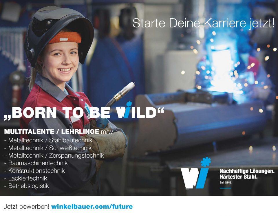Winkelbauer GmbH, Baumaschinenaustüstung, Anbaugeräte, Wear Parts, Lehre, Lehrlinge, Lehre mit Karriere