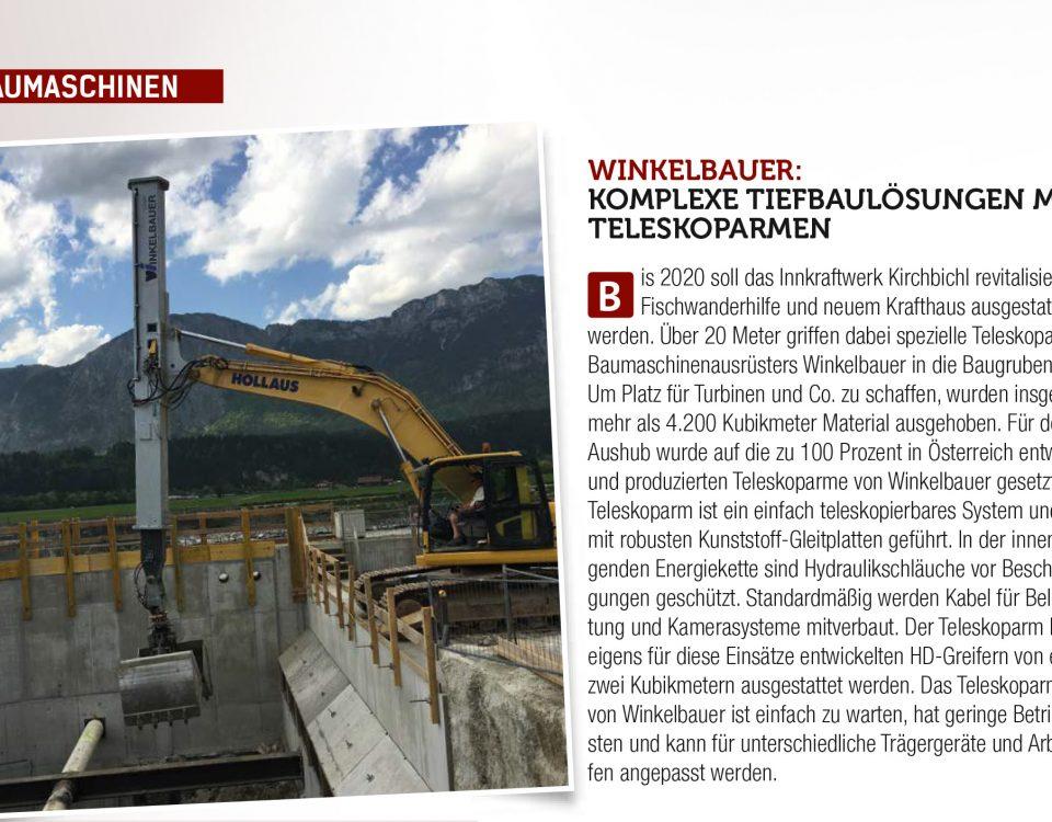 Winkelbauer GmbH, Teleskoparm