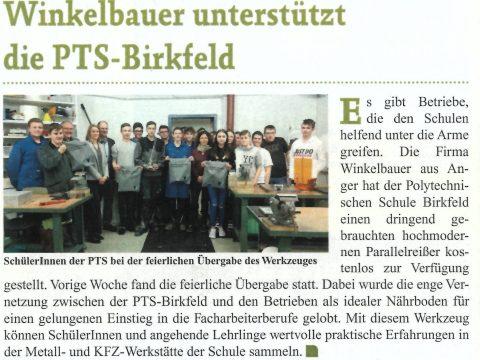 Winkelbauer GmbH, Woche Weiz, Höhenreißer, Parallelreißer