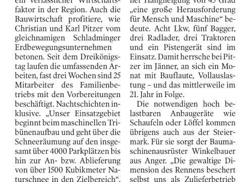 Winkelbauer GmbH, Baumaschinenausrüstung, Kleine Zeitung