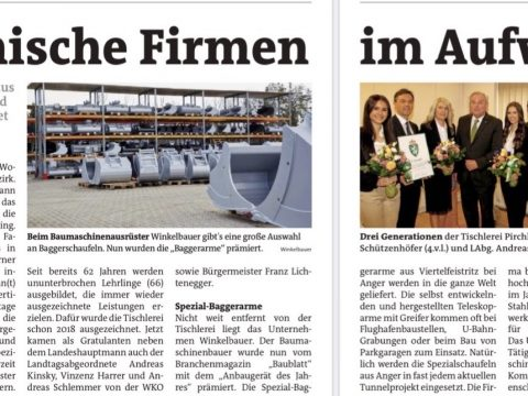 Winkelbauer GmbH, Woche Weiz, Firmen im Aufwind