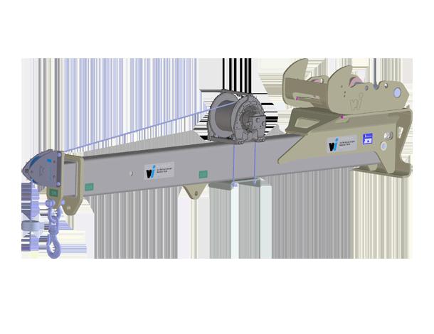 Winkelbauer GmbH. Baumaschinenausrüstung, Anbaugeräte, Baggerausrüstung, Kranarm
