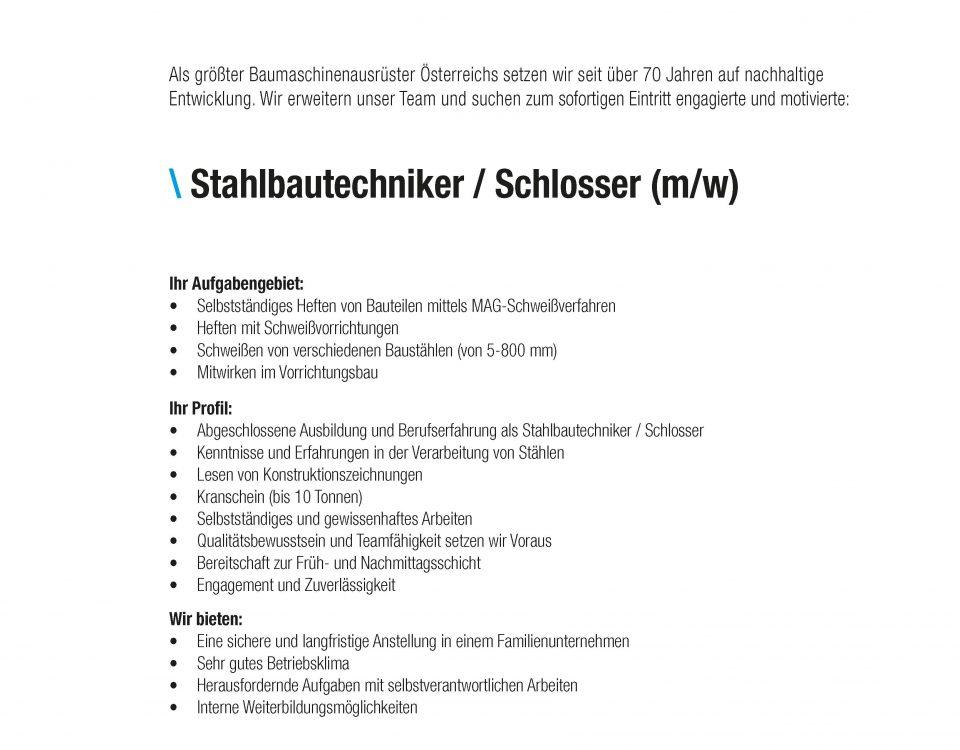 Winkelbauer GmbH, Baumaschinenausrüstung, Wear Parts, Komponentenfertigung, Ideenschmiede, Stelleninserate, Stellenangebot