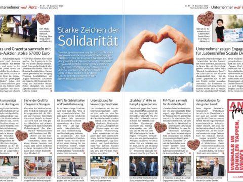 Winkelbauer GmbH, Baumaschinenausrüstung, Anbaugeräte, Wear Parts, Adventkalender, Guter Zweck