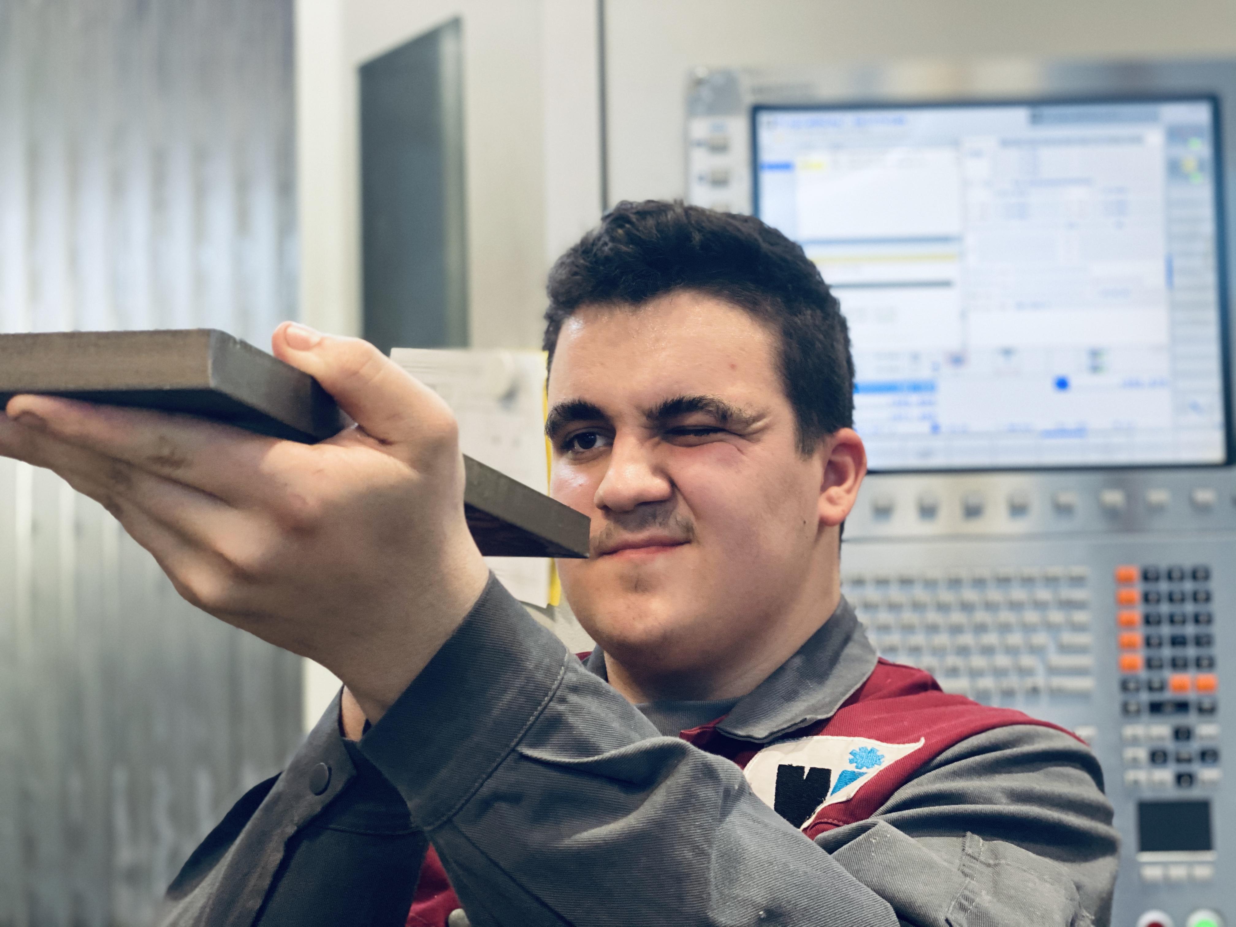 Winkelbauer GmbH, Baumaschinenausrüstung, Anbaugeräte, Wear Parts, Komponentenfertigung, Ideenschmiede, Lehrlingsausbildung, Lehre, Lehrling