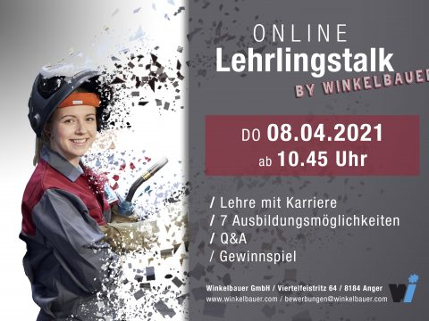 Winkelbauer GmbH-Baumaschinenausrüstung, Wear Parts, Komponentenfertigung, Ideenschmiede, Lehrlinge,