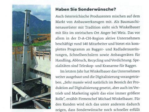 Winkelbauer - Artikel Bauzeitung