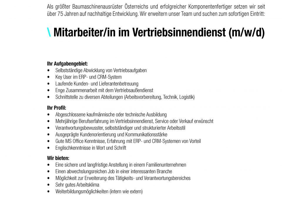 Winkelbauer GmbH, Anbaugeräte, Baumaschinenausrüstung, Komponentenfertigung, Ideenschmiede